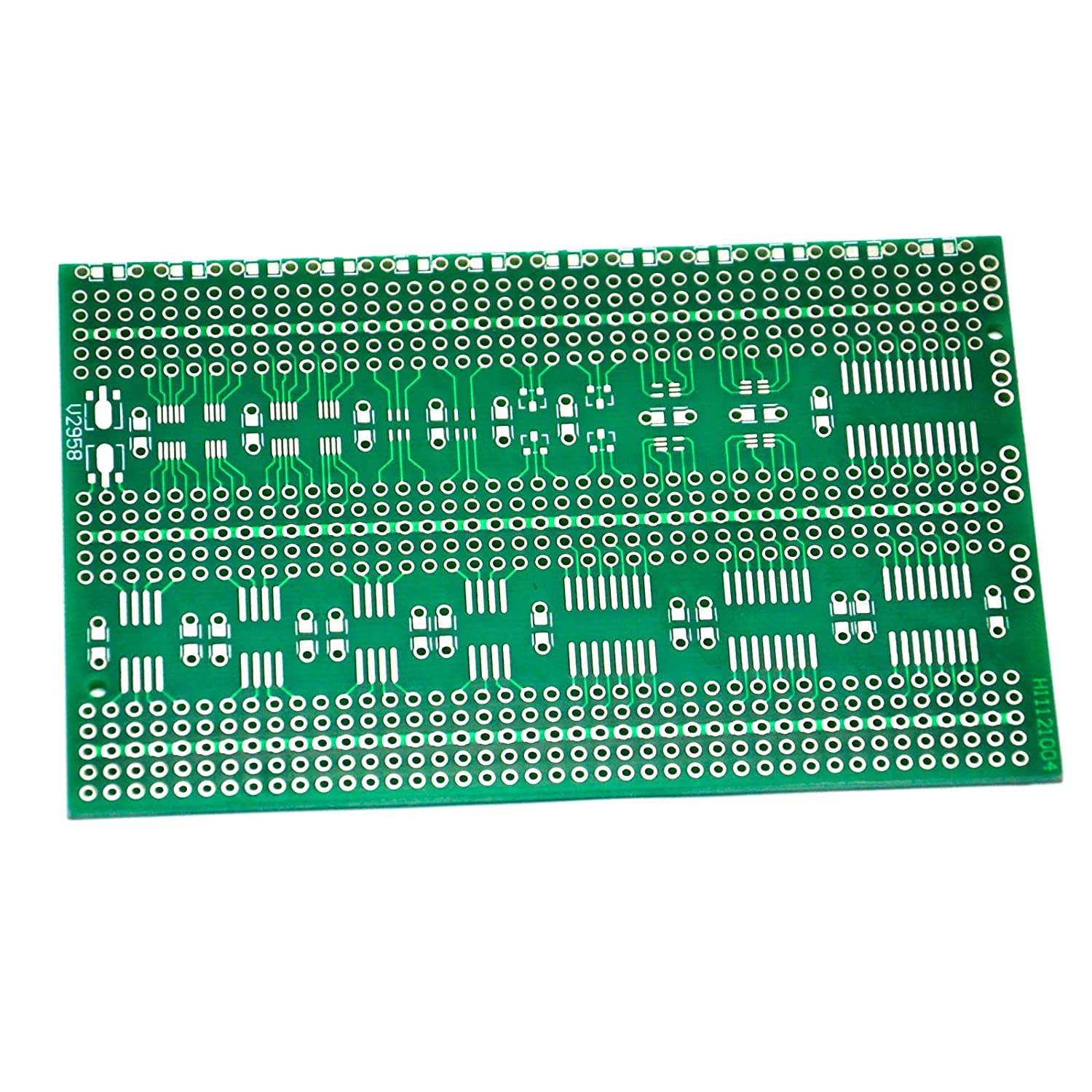 Gikfun Single Side Prototype Universal Smd Pcb Circuit Solderless Breadboard With 400 Tie Points And Matching Board For Arduino Ek1599 Computers Accessories