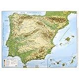 Mapa en relieve España físico: Escala 1:200.000: Amazon.es: All 3D Form S. L.: Libros