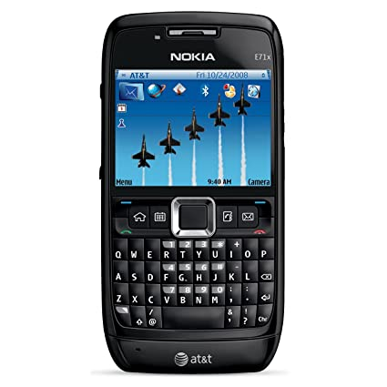 nokia with keyboard. nokia e71x unlocked phone with qwerty keyboard, 3.2 mp camera and dual-band 3g keyboard h