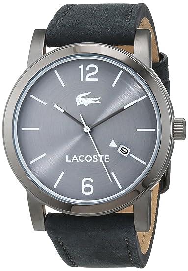 Lacoste Reloj Análogo clásico para Hombre de Cuarzo con Correa en Cuero 2010926: Amazon.es: Relojes