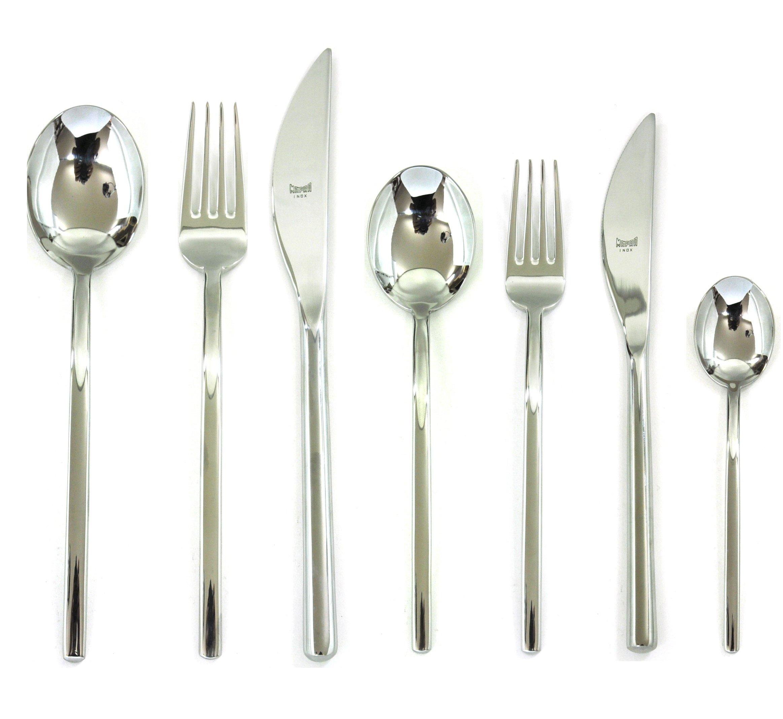 Mepra 100222042 42 Piece Sveva Cutlery Set, Stainless Steel