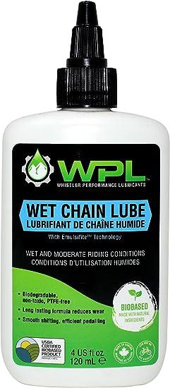 WPL Lubricante de cadena de bicicleta húmeda para condiciones ...