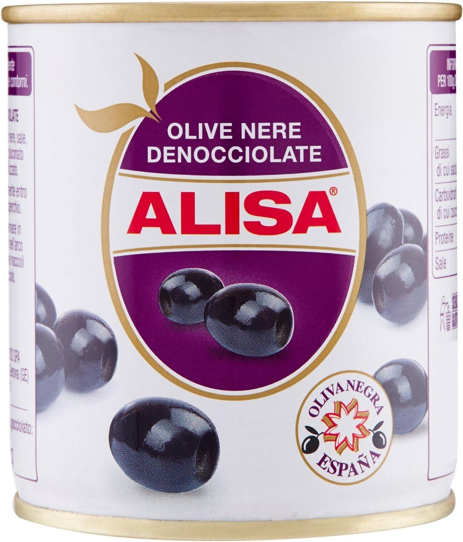 Alisa Olive Nere Denocciolate - 200 gr