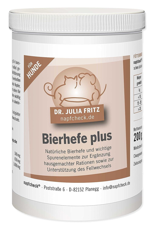napfcheck Levure de Bière Plus–Pour Chien–200g Dr. med. vet. Julia Fritz