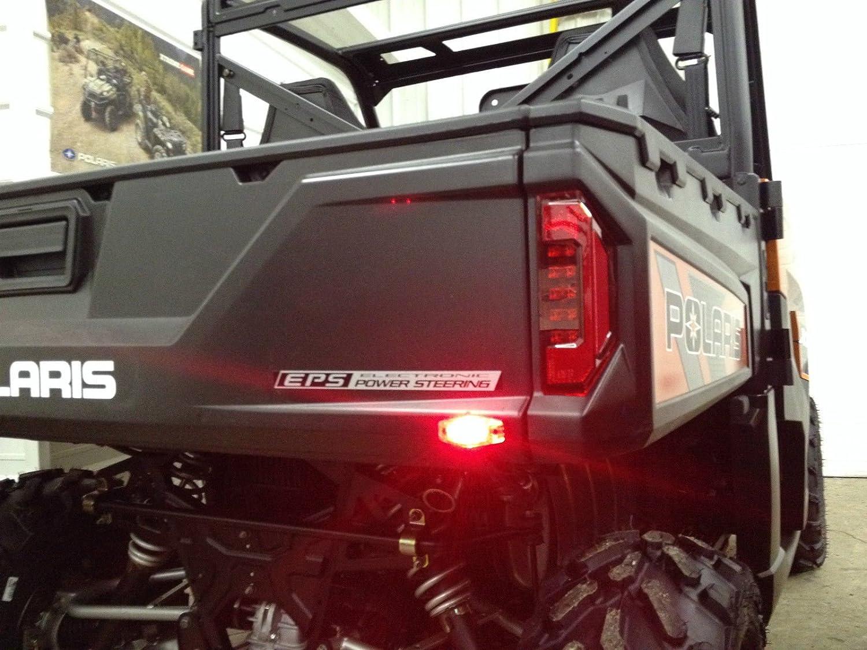 HIGH VISIBILITY LED Turn Signal Light Kit w// HORN Polaris Rangers /& RZR models