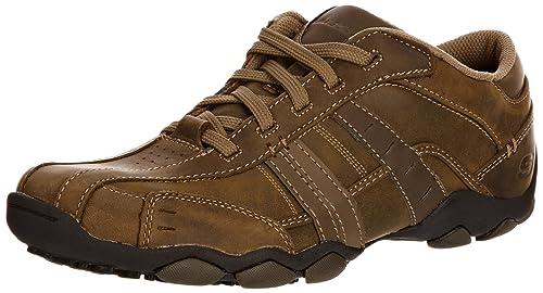 1d7cff18d03d1 Skechers Diameter Vassell 62607 BBK - Zapatillas Fashion de Cuero para  Hombre  Amazon.es  Zapatos y complementos