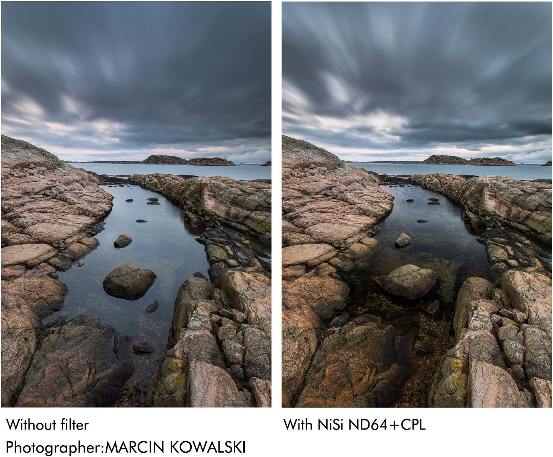 NiSi HUC IR Filter ND64+CPL-67mm