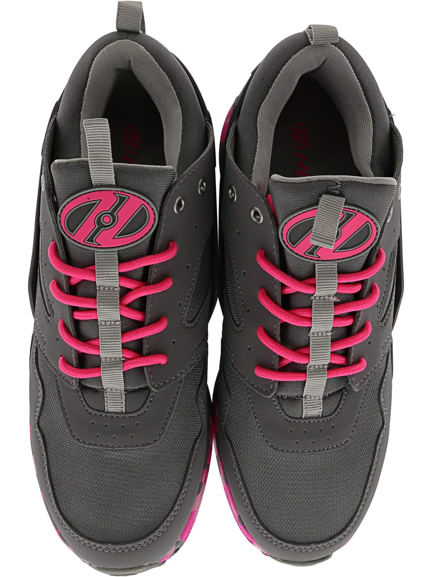 Heelys HE100098H Kid's Force Sneakers, Grey/Pink Confetti - 1 by Heelys (Image #3)