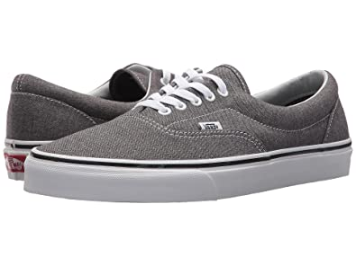 31be638e899 Image Unavailable. Image not available for. Color  Vans Era Mens Size 6.5    Womens Size 8 Micro Herringbone Black True White Skateboarding Shoes