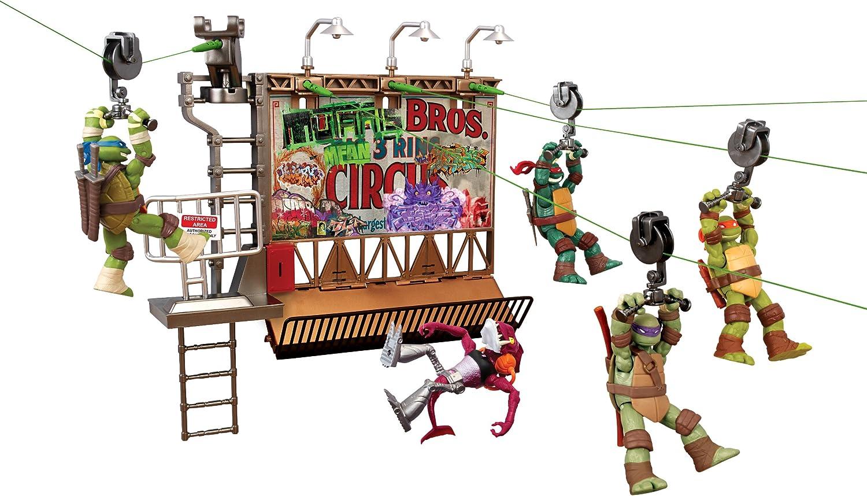 Teenage Mutant Ninja Turtles Z-Line Billboard Breakout Playset
