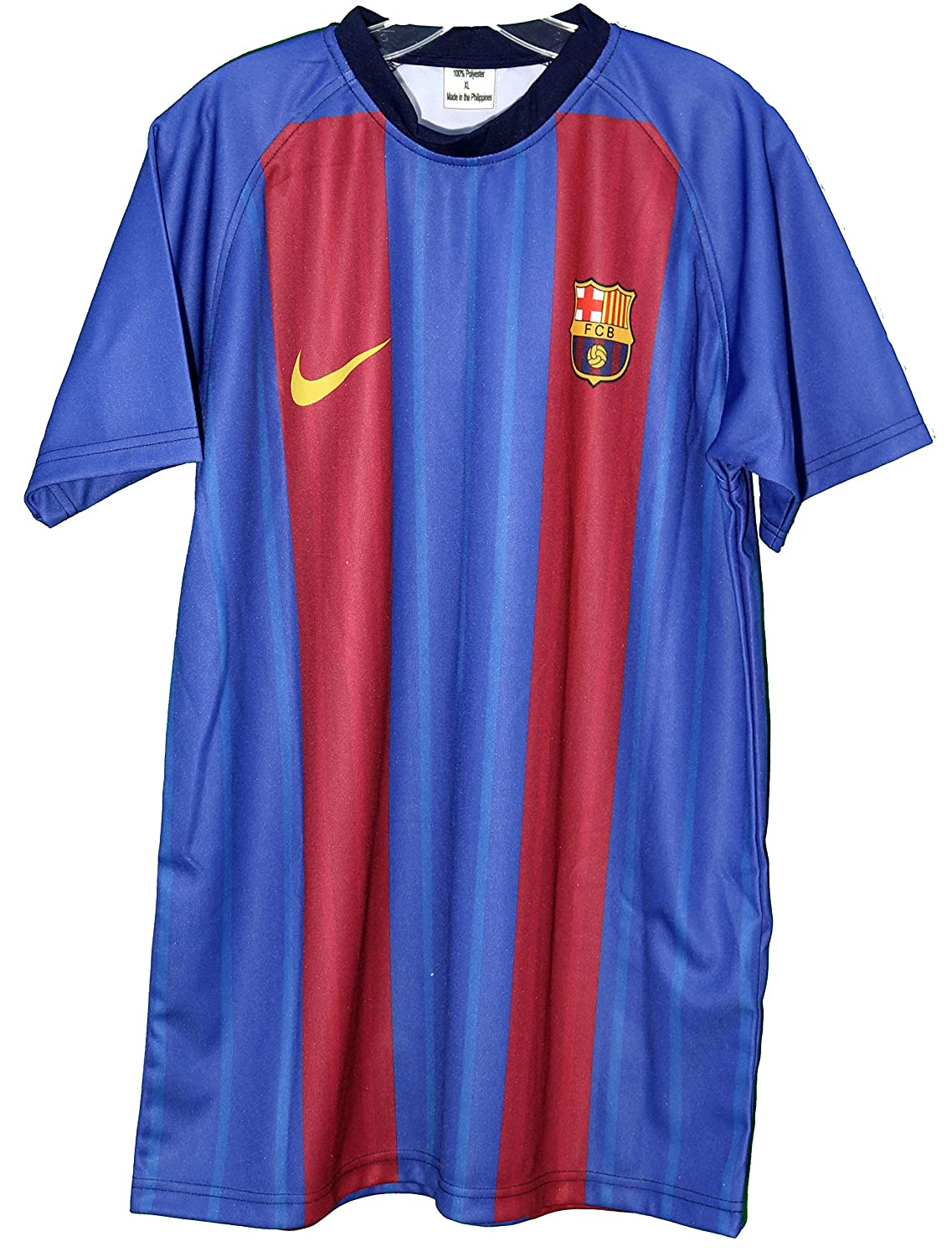 7eebdbc06 Lionel Messi Signed Autographed Barcelona  10 Blue Red Custom Jersey COA at  Amazon s Sports Collectibles Store