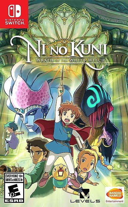 Amazon com: Ni no Kuni: Wrath of the White Witch - Nintendo Switch