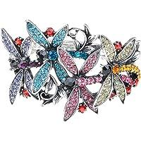 Alilang - Pulsera con diseño de libélula y luciérnaga para mujer