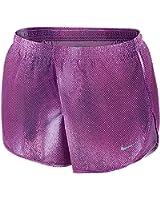 Nike Women's Dri-Fit Modern Embossed Tempo Running Shorts
