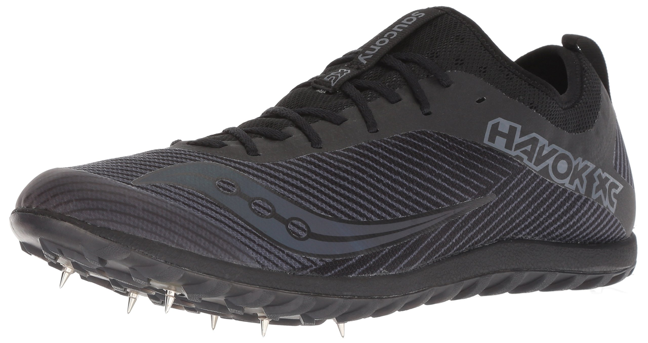 Saucony Men's Havok XC2 Track Shoe, Black, 10.5 M US