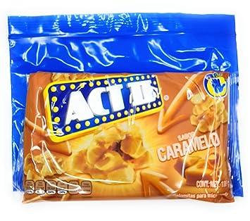Bolsas de microondas de palomitas de Caramelo (Caramelo) de ...