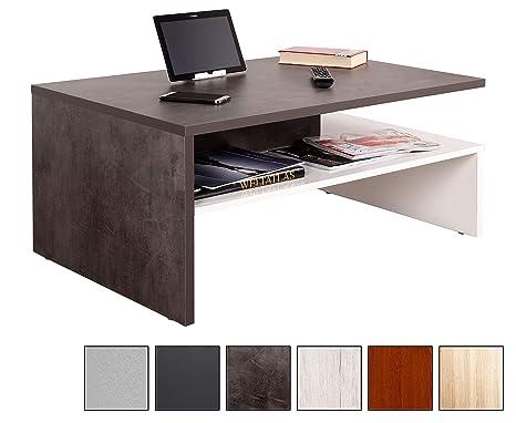 Furnier Tisch TV Sideboard Wohnzimmertisch Sofatisch Couchtisch Beistelltisch