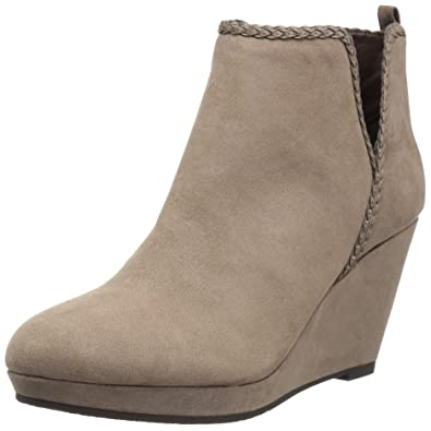 5930f324a04 CL by Chinese Laundry Women s Volcano Ankle Bootie Dusty Taupe Suede 10 ...