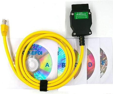 Ethernet Enet Obd Kabel Obdii Diagnoseschnittstelle E Sys Coding F Serie Programmieren Obd2 Kabel Baumarkt