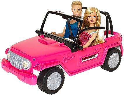 Barbie Vehiculo Auto De Playa Barbie Amazon Com Mx Juegos Y Juguetes