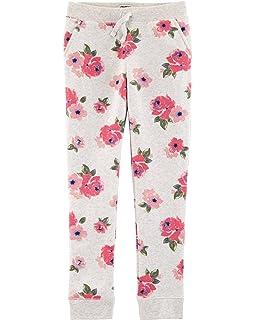 defc789e0f6d6 Amazon.com: OshKosh B'Gosh Girls' Jogger Pants: Clothing