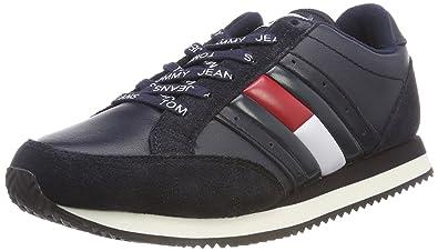 781e8e23be1b Hilfiger Denim Damen RWB Casual Retro Sneaker, Blau (Midnight 403), 37 EU