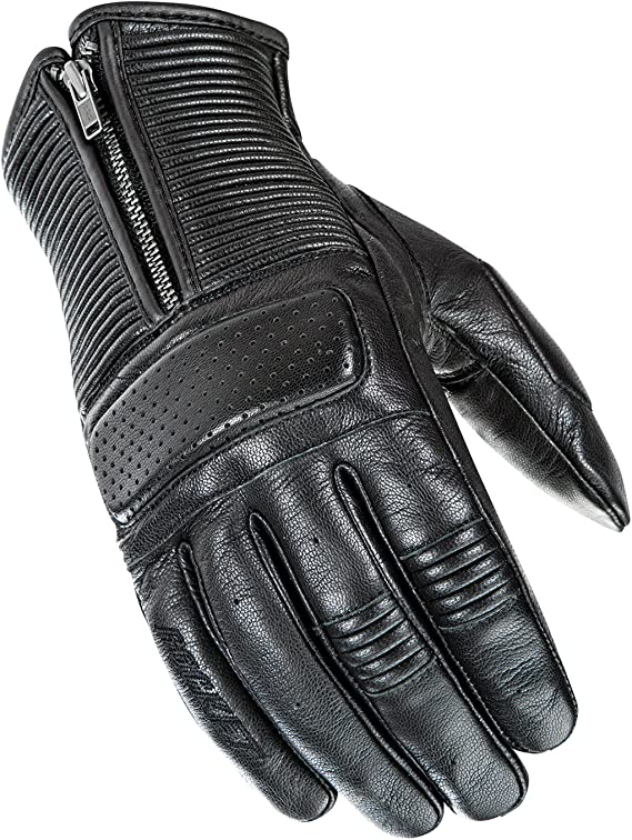 Joe Rocket Men's Café Racer Motorcycle Gloves (Black