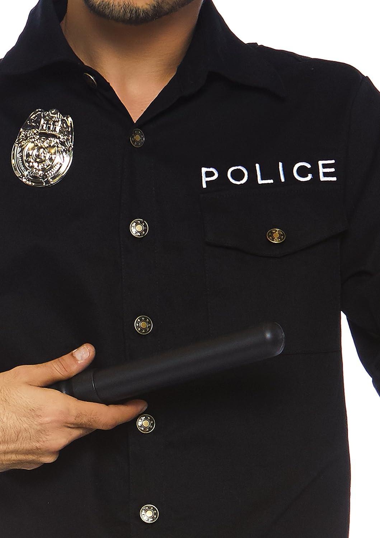 LEG AVENUE AVENUE AVENUE 83122 - 4Tl. Herren Police Police Kostüm, (X-Large) 143251