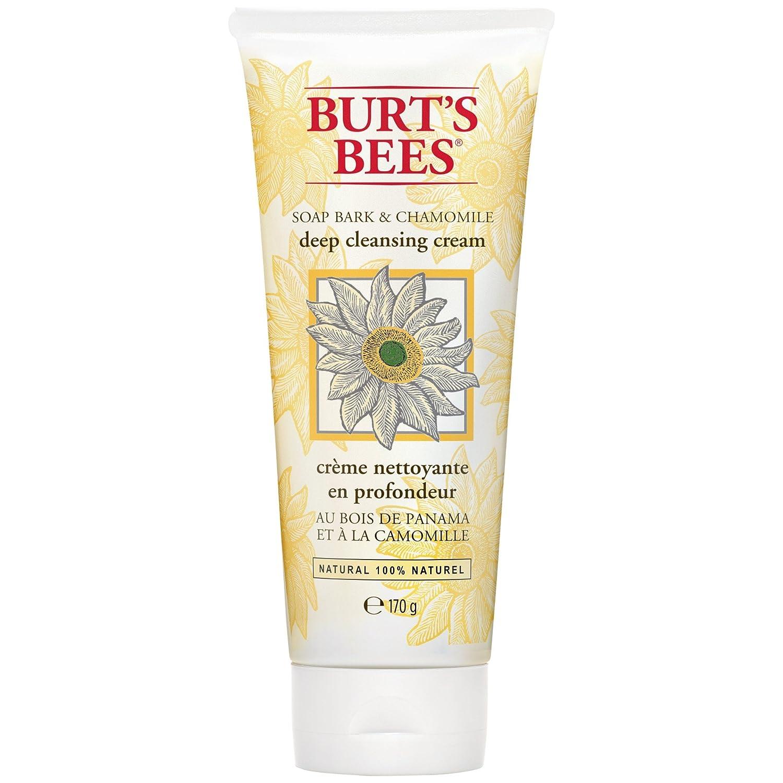 バートのBeesソープバーク&カモミールディープクレンジングクリーム170グラム (Burt's Bees) (x6) - Burt's Bees Soap Bark & Chamomile Deep Cleansing Cream 170g (Pack of 6) [並行輸入品]   B01N3SRV8K