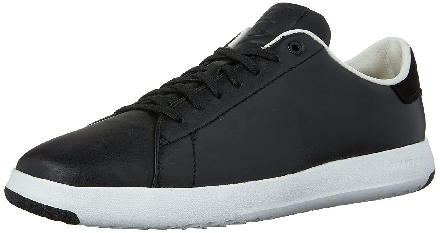 Black Leather Cole Haan Men's Grandpro Tennis Tennis shoes