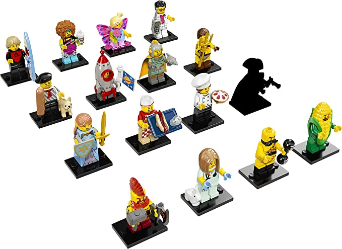 Retro Space Hero Ships Free! NEW LEGO MINIFIGURES SERIES 17 71018