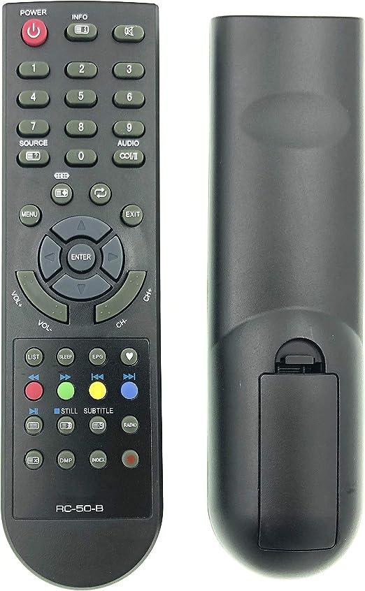 Mando a distancia RC-50-B compatible con RC-06-B para NPG LED TV NL 2212 HFB, NLD-3232HHB, NL1910SHB NL2210HFB NL-3216HHBS NL-1666S: Amazon.es: Electrónica