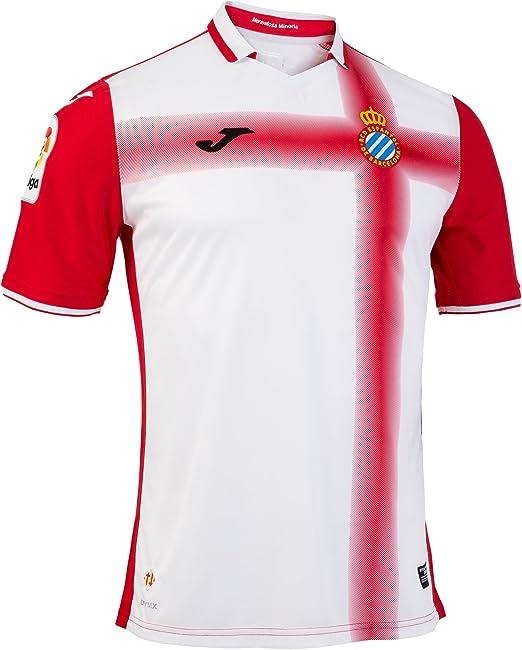 Joma SY.101021.16 Camiseta 2ª Equipación Espanyol, Hombres: Amazon ...