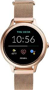Fossil Connected Smartwatch Gen 5 + GEN 5E para Mujer con Tecnología Wear OS de Google, Frecuencia Cardíaca, NFC y Notificaciones Smartwatch