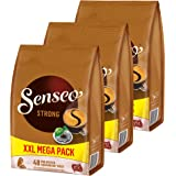 Senseo Coffee Pads Strong/Powerful, Pack of 3, Rich Flavour, Coffee, 144 Pads