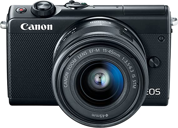 Canon EOS M100 Mirrorless Camera w/ 15-45mm Lens - Wi-Fi
