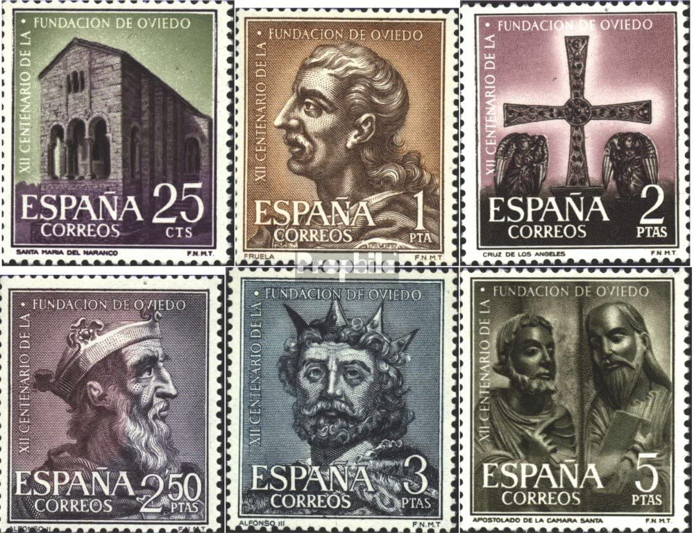 Prophila Collection España Michel.-No..: 1289-1294 (Completa ...