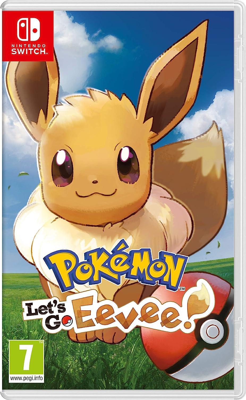 Pokemon Lets GO Eevee! - Nintendo Switch [Importación italiana]: Amazon.es: Videojuegos