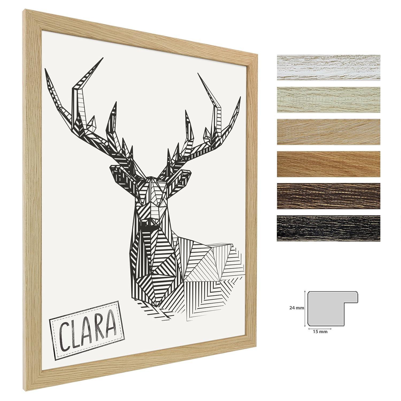 Bilderrahmen Clara 11x17 (Zoll/inch) | ca. 28x43,2cm Eiche Natur ...