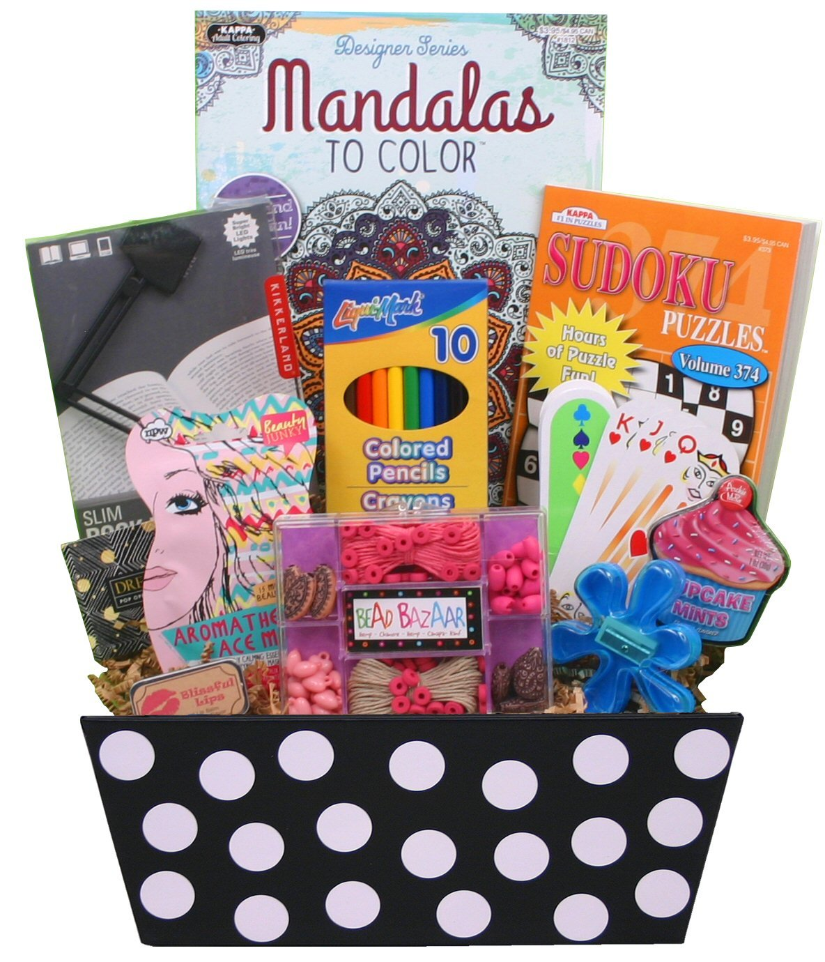4d743b8cd Need to send a done for you Easter basket to a tween or teen girl? Check  this one out on Amazon!