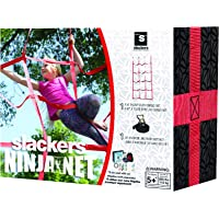 Slackers Slackers - Ninjaline Ninja Net Outdoor Climbing Play