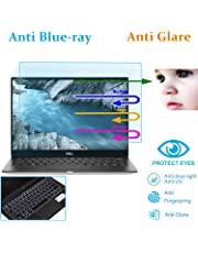 Anti Blue Light Glare Laptop Screen Protector for Dell XPS 13 9380 13.3 Inch with Gift Keyboard Cover, Reduces Digital Eye Strain and Radiation to Help Your Sleep Better