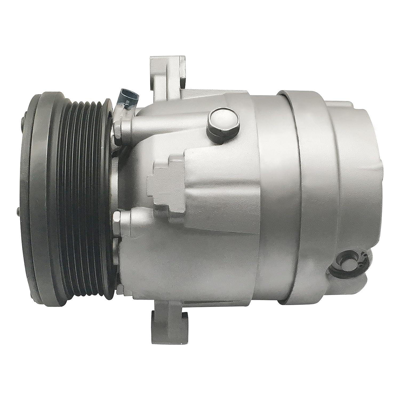 RYC Remanufactured AC Compressor and A//C Clutch EG999