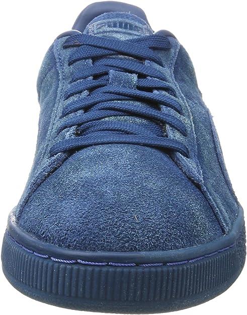 PUMA Herren Suede Classic Distressed Sneaker, Blau (Sailor