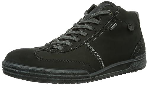 ECCO Men's Fraser Hi-Top Trainers, Black (black/moonless), ...