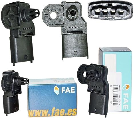 D2P para Fiat 500 1.4 Abarth/Colector del Sensor de Map presión Sensor 13627966237