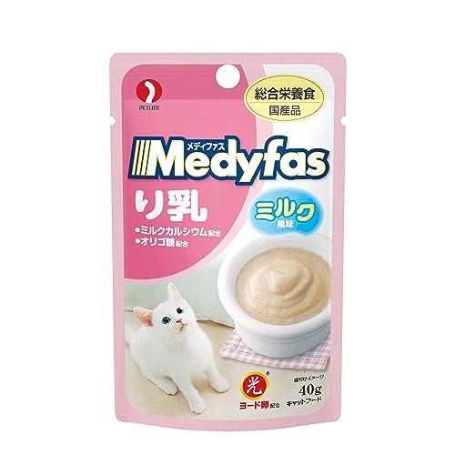 メディファス キャットフード り乳 ミルク風味
