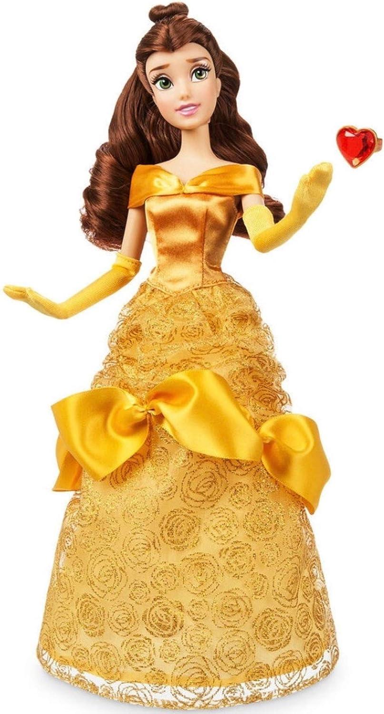 Muñeca clásica con anillo Disney Princesa Belle Classic de 30 cm