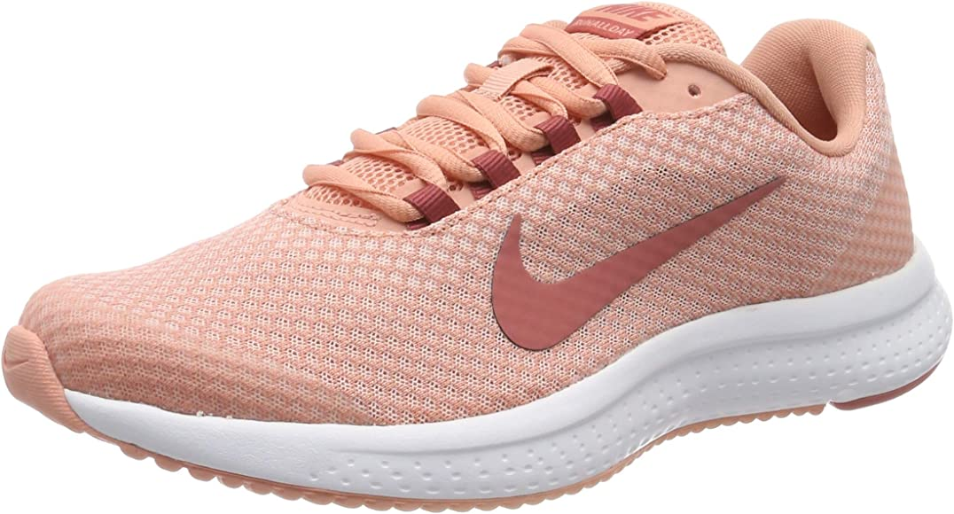Nike Wmns RUNALLDAY, Zapatillas de Entrenamiento para Mujer, Rosa (Echo Pink/Light Redwood/Pink Quartz 602), 37.5 EU: Amazon.es: Zapatos y complementos