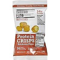 Shrewd Food Brickoven Pizza Shrewd Food Protein Crisps, 8 Count
